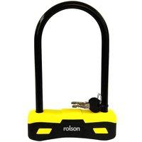 Rolson Heavy Duty D-Bike Lock - 25cm