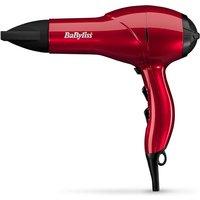 BaByliss SalonLight 2100 Hair Dryer - Red