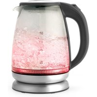 Salter 1.7L Colour Changing Glass Kettle with LED Illumination