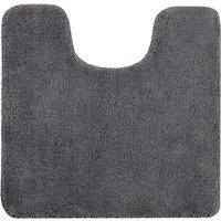 Allure Microfibre Pedestal Mat - Charcoal