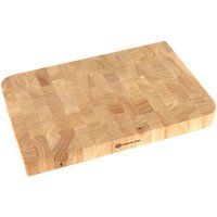 Schulte-Ufer Professional Thick Wooden Chopping Board - Brown