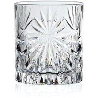 RCR 320ml Oasis Crystal Short Whisky Tumblers Glasses - Set of 6