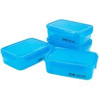 Joe Wicks Rectangular Food Container Set - 4 Piece