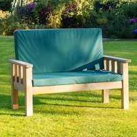 Zest4Leisure Christina Bench with Cushion Pad