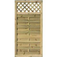 Rowlinson 3x6 Wooden Halkin Screen Gate