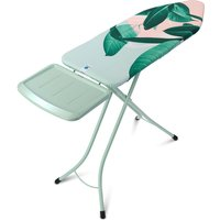 Brabantia 124 x 45cm Ironing Board with Steam Holder - Tropical Leaves