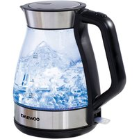Daewoo 1.7L Glass Kettle