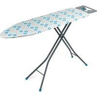 Beldray 137 x 38cm Ironing Board - Blue Retro Floral Print