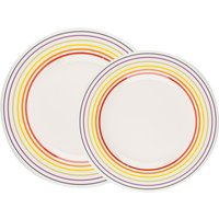 Bugatti Striped Dinner Plate Set - 16 Piece