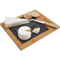 Premier Housewares Bamboo Cheese Board with Knife