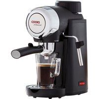 Cooks Professional Espresso Coffee Maker - Black