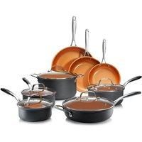 Gotham Steel 13-Piece Cookware Set - Graphite
