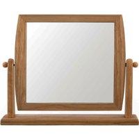 Premier Housewares Wooden Frame Swivel Table Mirror