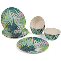 Cambridge Kayan Bamboo Eco-Friendly Tableware Set - 8 Piece