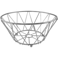 Chrome Round Fruit Basket