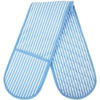 Blue Stripe Double Oven Glove