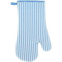 Blue Stripe Single Oven Glove