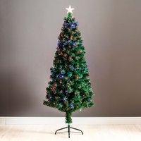 6ft Robert Dyas Scottsdale Fibre Optic Christmas Tree