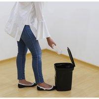 Tramontina Plastic Pedal Bin 10l - Black