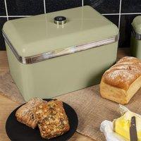 Swan Retro Bread Bin - Green