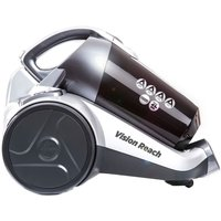 Hoover BF81_VS02 Vision Reach Bagless Cylinder Vacuum - White and Red