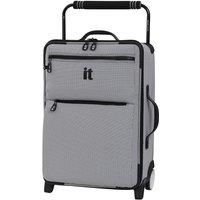It Luggage Urbane Worlds Lightest Wide Handled Design 2-Wheel Cabin Case - Black/ White Two Tone