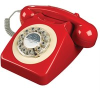 Wild And Wolf Wild & Wolf 746 Telephone - Red