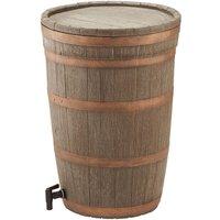 Charles Bentley 120l Oak Wood Water Butt