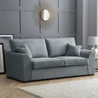 Zara 3 Seater Sofa Dot Charcoal