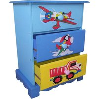 childrens transport wooden chest of drawers
