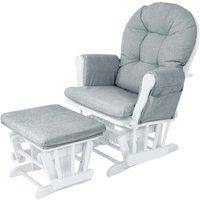 BabyLo Milan Glider Chair & Ottoman