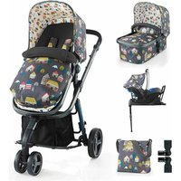 Cosatto Giggle 2 Travel System, Accessories + Isofix Bundle