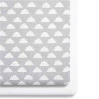 Snuz Bedside Crib 2 Pack Fitted Sheets