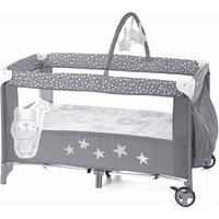 Jane Duo Level Travel Cot and Toys
