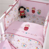 Izziwotnot Cot / Cot bed Bedding Package Cherry Blossom
