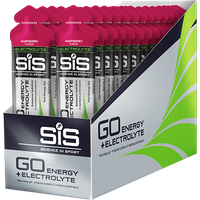 SiS GO Energy + Electrolyte Gel 60ml 30 Pack - Raspberry