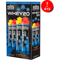 SiS WHEY20 78ml Mixed 4 Pack - Strawberry & Lemon