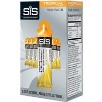SiS GO Isotonic Energy Gel 60ml 6 Pack - Tropical