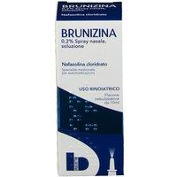 Brunizina 0,2% Spray Nasale, Soluzione Flacone Da 10 Ml