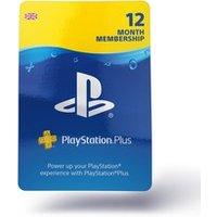 PlayStation Network Plus 12 Month UK Membership