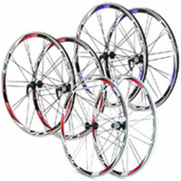 Rodi Airline Evo Clinchers Wheels Pair - Black/blu