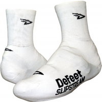 Defeet 4 D-logo White Slipstream Shoe Cover Size
