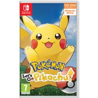 Pokémon: Let's Go, Pikachu!, Switch