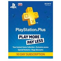 Sony Playstation Plus 90 Day Subscription (UK Only) on PS4