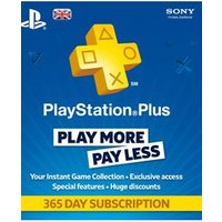 Sony Playstation Plus 12 Month Subscription (UK Only) on PS4