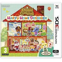 Animal Crossing: Happy Home Crossing and Card on Nintendo 3DS