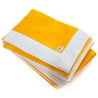 Acqua Di Parma 1 x Yellow Velvet Terrycloth Bath Towel 100cm x 150cm