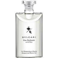 Bvlgari Au The Blanc Shampoo And Shower Gel 200ml