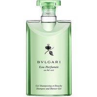 Bvlgari Eau Parfumee Au The Vert Bath And Shower Gel 200ml