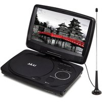 Akai A51003 10 LED Portable DVD Player with DVB T TV Tuner